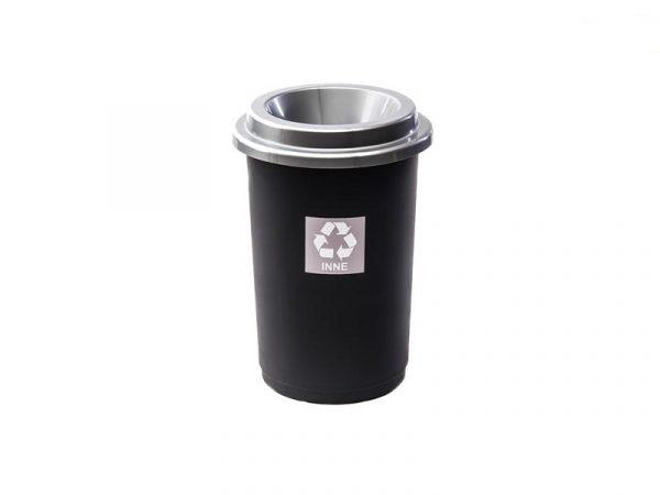 Kosz do segregacji odpadów Eco Bin 50l z szarą pokrywą na inne