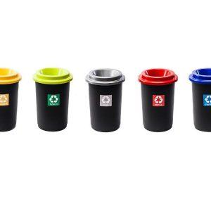 Zestaw koszy do segregacji odpadów Eco Bin 50l