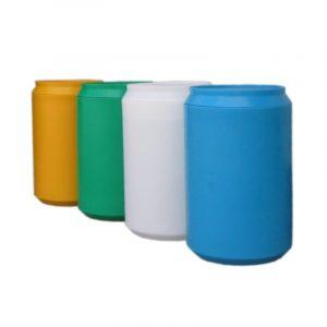 Pojemnik do segregacji odpadów w kształcie puszki Puszka 170l w różnych kolorach