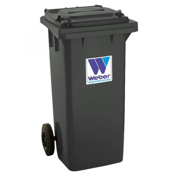 Pojemnik na odpady Weber 120l grafitowy