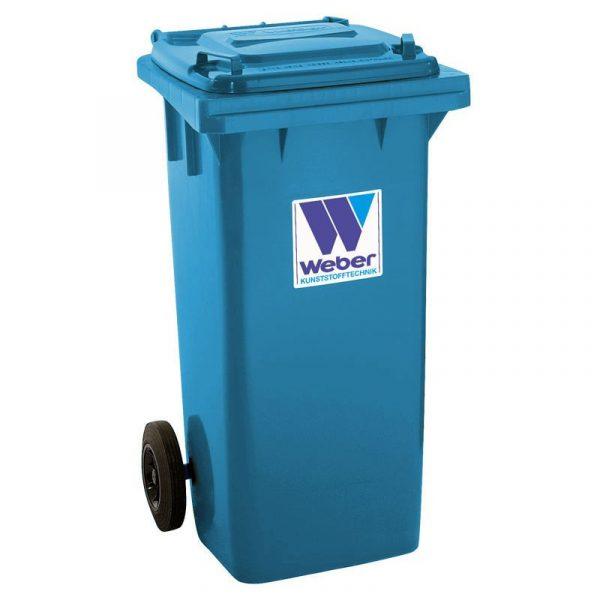Pojemnik na odpady Weber 120l niebieski