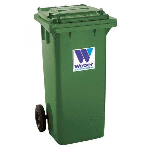 Pojemnik na odpady Weber 120l zielony