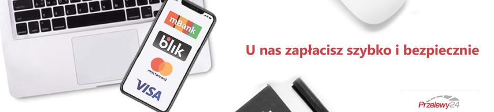 Sklep z koszami - Przelewy24