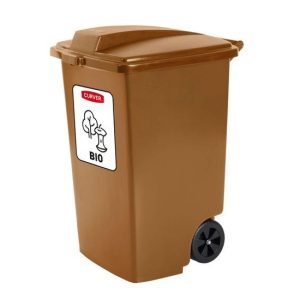 Pojemnik na odpady Curver 100l brązowy na bio