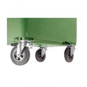 Kółka pojemnika na odpady Weber 1100l