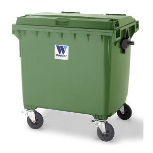 Pojemnik na odpady Weber 1100l zielony