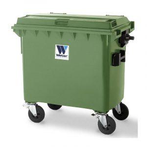 Pojemnik na odpady Weber 660l zielony
