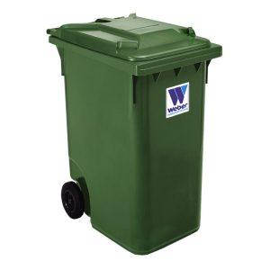 Pojemnik na odpady Weber 360l zielony