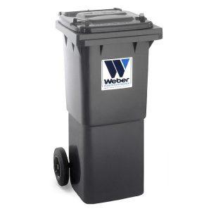 Pojemnik na odpady Weber 60l grafitowy