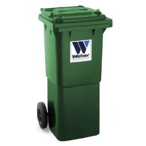 Pojemnik na odpady Weber 60l zielony