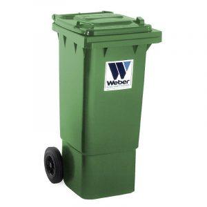 Pojemnik na odpady Weber 80l zielony