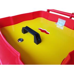 Pojemnik na odpady niebezpieczne żółty pokrywa wewnętrzna