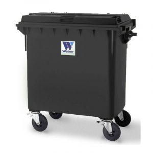 Pojemnik na odpady Weber 770l grafitowy