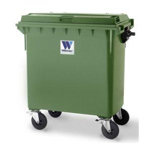 Pojemnik na odpady Weber 770l zielony