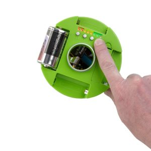 Pojemnik na zużyte baterie z testerem 1,85l