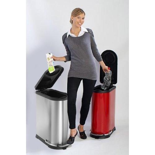 Kosz na śmieci z pedałem Yellow Line 248 SN 40l kobieta