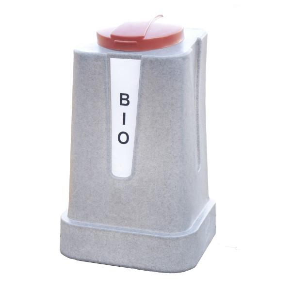 Pojemnik do segregacji Jedynak Mini 120l brązowy na bio