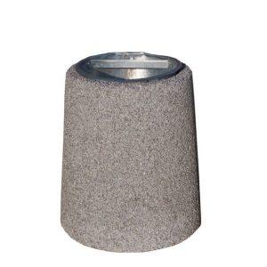 Kosz betonowy okrągły 26l model 117