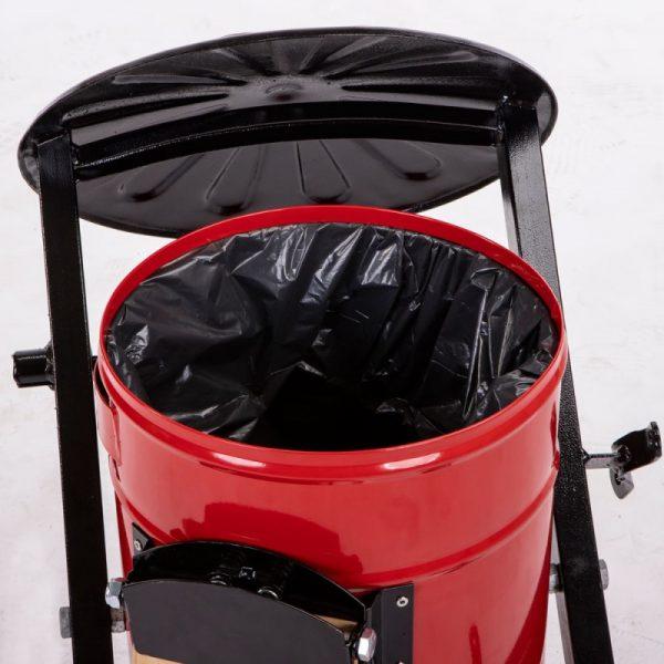 Kosz na psie odchody Toffik 35l ze sprężyną dociskową worki na śmieci